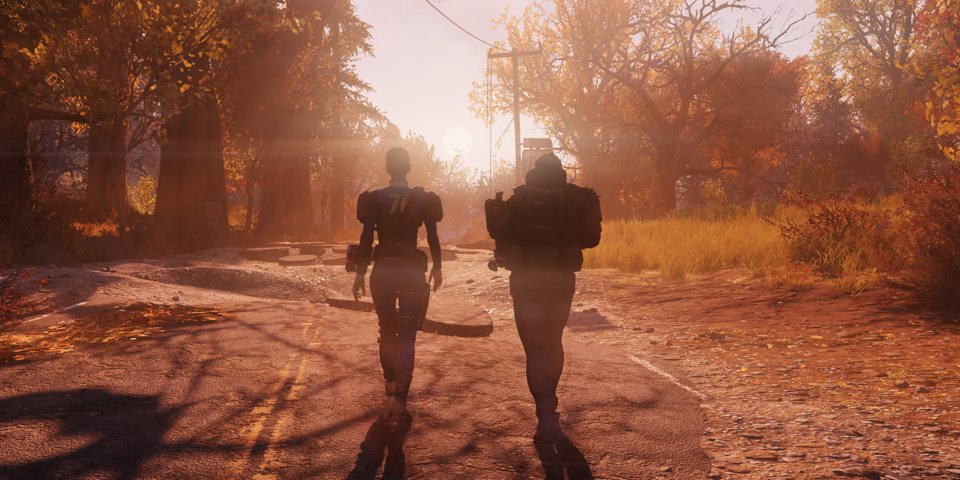 Watch the live action trailer for Fallout 76