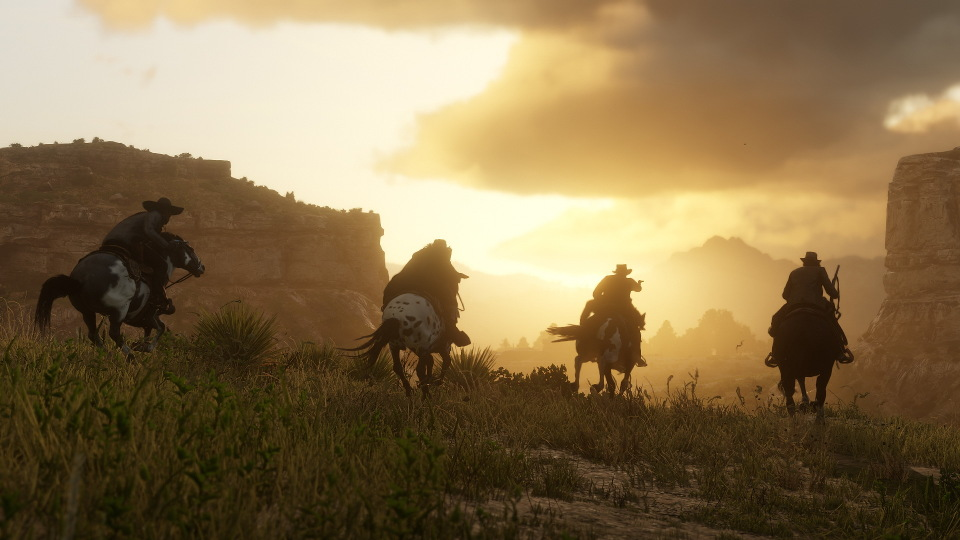 'Red Dead Redemption 2' Videos And Cowboys Have Taken Over Twitter