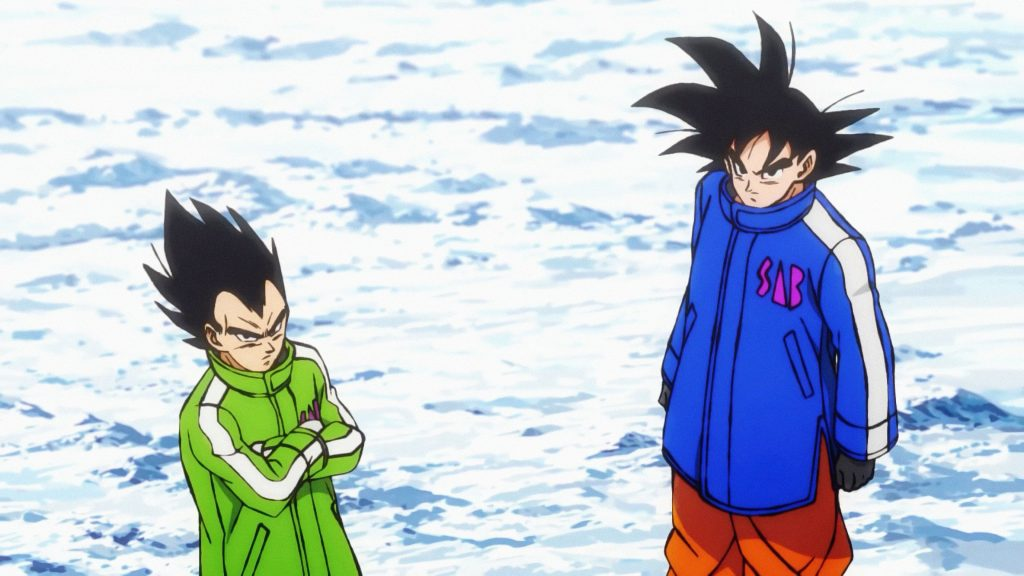 Dragon Ball Super: Broly - Goku and Vegeta