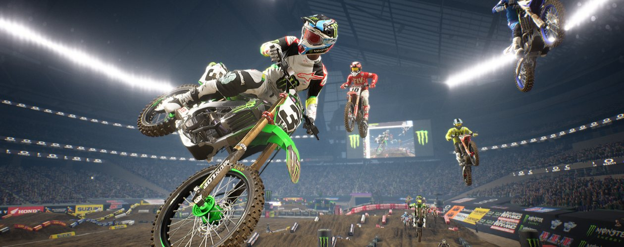 Monster Energy Supercross 3 announced, coming February 2020