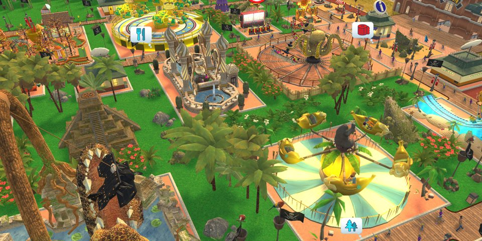 RollerCoaster Tycoon Adventures Review – TheSixthAxis
