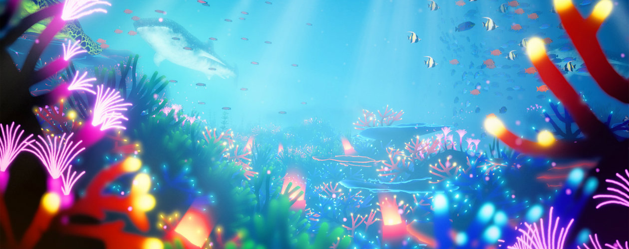 Save the oceans in Koral which is coming to Steam and Switch soon