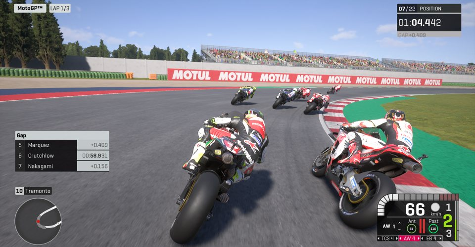 How MotoGP 19 is racing into the future of motorsports video