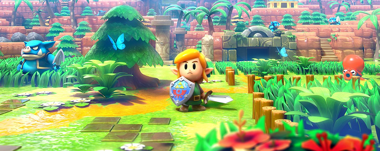 Watch half an hour of Zelda: Link's Awakening gameplay, fresh from Gamescom
