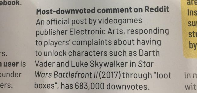 EA get a Guinness World Record they probably did not want