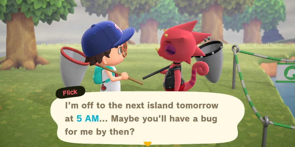 Animal Crossing New Horizons How To Sell Bugs To Flick And